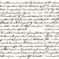 Servietten 33x33 cm - Scrittura