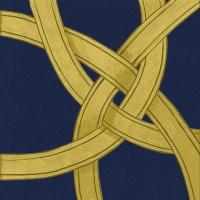 Servietten 33x33 cm - Pfandrechte d´Or dunkelblau