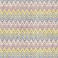 Servietten 33x33 cm - Zig Zag Multicolore