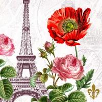 Servietten 33x33 cm - Die Tour Eiffel