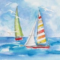 Servietten 33x33 cm - Sailing
