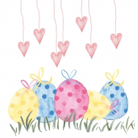 Servietten 33x33 cm - Lovely Easter