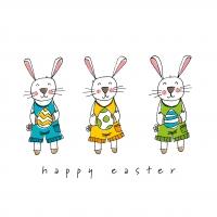Servietten 33x33 cm - Easter Fun