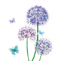 Servietten 33x33 cm - Allium