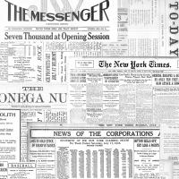 Servietten 33x33 cm - The Messenger