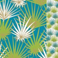 Servietten 33x33 cm - Palms