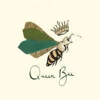Servietten 33x33 cm - Queen Bee