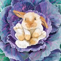Servietten 33x33 cm - Babs the Bunny