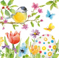 Servietten 33x33 cm - Easter Bird