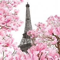 Servietten 33x33 cm - April in Paris