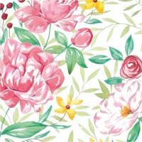 Servietten 33x33 cm - Madame Rose