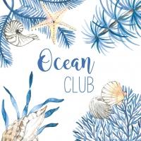 Servietten 33x33 cm - Ocean Club
