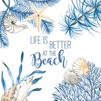 Servietten 33x33 cm - Ocean Life is better