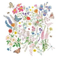 Servietten 33x33 cm - Nature Romance