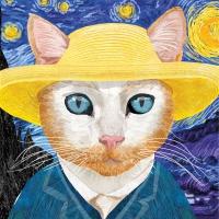 Servietten 33x33 cm - Vincent