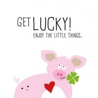 Servietten 33x33 cm - Get Lucky