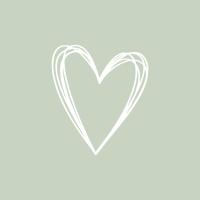 Servietten 33x33 cm - Pure Heart green Napkin 33x33