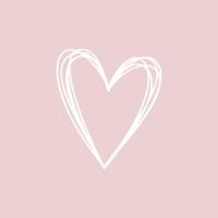 Servietten 33x33 cm - Pure Heart rosé