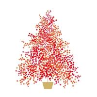 Servietten 25x25 cm - Seasons Tree Napkin 25x25