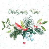 Servietten 25x25 cm - Christmas Time