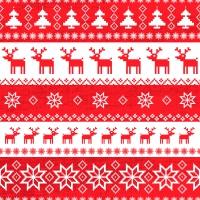 Servietten 33x33 cm - Magische Weihnachten