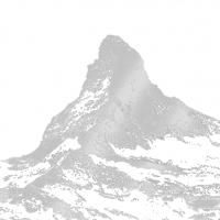 Lunch Servietten Matterhorn silver