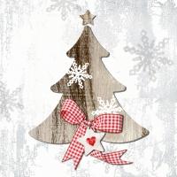 Servietten 33x33 cm - Land Weihnachten