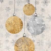 Servietten 33x33 cm - Weihnachtsschmuck