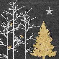 Servietten 33x33 cm - Mystischer Baum