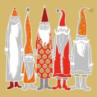 Lunch Servietten Santas in Style