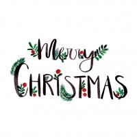 Servietten 33x33 cm - Merry Christmas