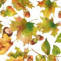 Servietten 33x33 cm - Autumn