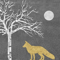 Servietten 33x33 cm - Mystic Fox
