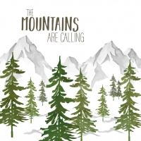 Servietten 33x33 cm - Adventure Mountains