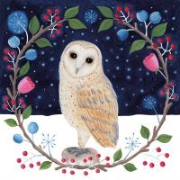 Servietten 33x33 cm - Hedwig