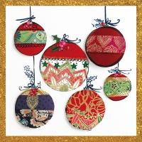 Servietten 33x33 cm - Christmas Ornaments