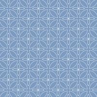 Servietten 33x33 cm - Kyoto blue