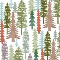Servietten 33x33 cm - Forest
