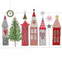 Servietten 33x33 cm - Paper Houses Napkin 33x33
