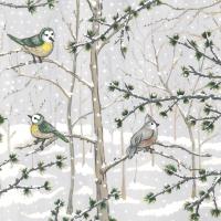 Servietten 33x33 cm - Snow Paradise Napkin 33x33