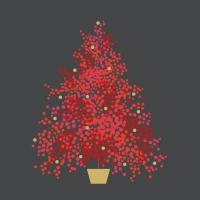 Servietten 33x33 cm - Season´s Tree grey