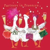 Servietten 33x33 cm - Partners in Prosecco