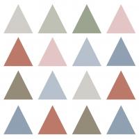 Servietten 33x33 cm - Pure Triangles