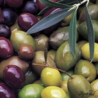 Lunch Servietten Mixed Olives