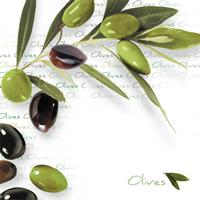 Lunch Servietten Green Olives
