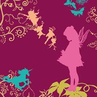 Lunch Servietten Fairy lilac