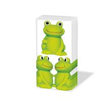 Taschentücher Frogs