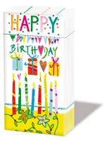 Taschentücher Happy Birthday