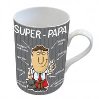 Porzellan-Tasse - Super-Papa