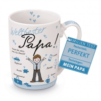 Porzellan-Tasse - Weltbester Papa